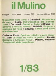Copertina del fascicolo dell'articolo L'opinione pubblica italiana di fronte alla pena di morte