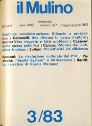Copertina del fascicolo dell'articolo La narrativa di García Marquez tra Centro e Nord-America