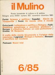 Copertina del fascicolo dell'articolo Biologia e fantasia