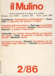 Copertina del fascicolo dell'articolo La sinistra democristiana e il governo del paese: riflessioni autobiografiche tra memoria e proposta