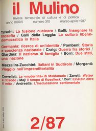 Copertina del fascicolo dell'articolo L'ineducazione sentimentale di Flaubert. Una nota sul filo della psicoanalisi