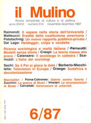 Copertina del fascicolo dell'articolo Interpretare per conoscere: la teoria messa alla prova