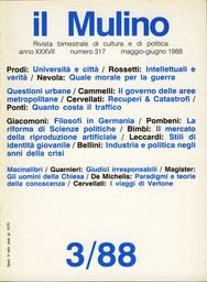 Copertina del fascicolo dell'articolo I viaggi di Vertone