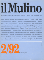 Copertina del fascicolo dell'articolo Un capitalismo senza concentrazione