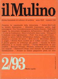 Copertina del fascicolo dell'articolo Il partito degli intransigenti