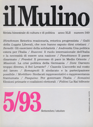 Copertina del fascicolo dell'articolo Una politica estera per l'Italia