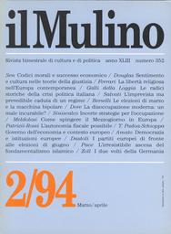 Copertina del fascicolo dell'articolo Democrazia e istituzioni europee