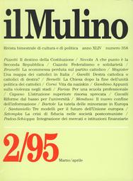 Copertina del fascicolo dell'articolo La scommessa perduta sul partito cattolico