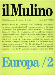 Copertina del fascicolo dell'articolo La moneta unica e i criteri di convergenza
