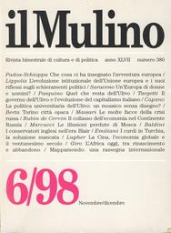 Copertina del fascicolo dell'articolo L'evoluzione istituzionale dell'Unione e i suoi riflessi sugli schieramenti politici