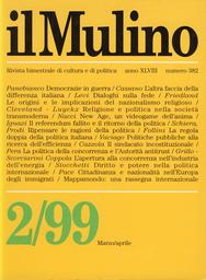 Copertina del fascicolo dell'articolo La regola doppia della politica italiana