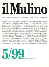 Copertina del fascicolo dell'articolo Immagini del Mezzogiorno nelle scienze sociali