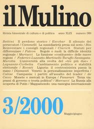 Copertina del fascicolo dell'articolo Il perdono storico. Dono, identità, memoria, oblio