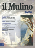 cover del fascicolo, Fascicolo arretrato n.6/2001 (novembre-dicembre)