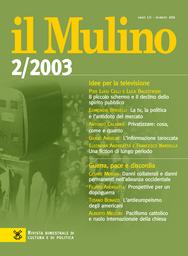 Copertina del fascicolo dell'articolo Prove e sfide per il mondo cattolico