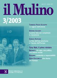 Copertina del fascicolo dell'articolo Qualche idea per completare la transizione