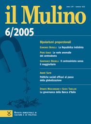 Copertina del fascicolo dell'articolo La Repubblica indistinta