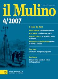 Copertina del fascicolo dell'articolo Una destra trasversale