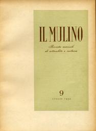 Copertina del fascicolo dell'articolo I