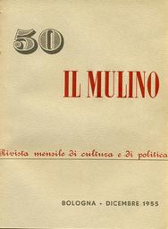Copertina del fascicolo dell'articolo Una lettera al Mulino