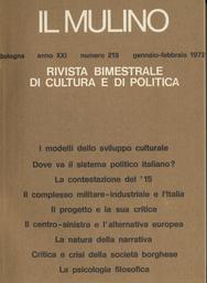 Copertina del fascicolo dell'articolo La natura della narrativa: la struttura nella storia e/o la storia nella struttura