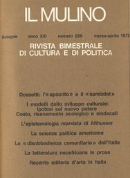 Copertina del fascicolo dell'articolo Temi e problemi della letteratura neoafricana in prosa