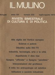 Copertina del fascicolo dell'articolo Ancora sull'Emilia, i comunisti e