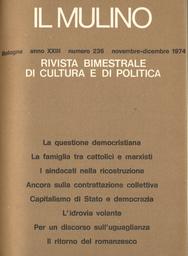 Copertina del fascicolo dell'articolo Le 150 ore all'Università di Bologna
