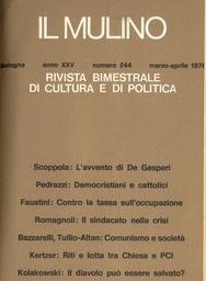 Copertina del fascicolo dell'articolo Città e università nell'esperienza bolognese