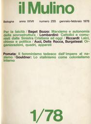 Copertina del fascicolo dell'articolo Verità e problemi dei bilanci dei partiti