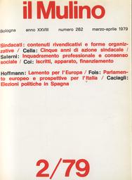 Copertina del fascicolo dell'articolo Le nuove elezioni politiche in Spagna